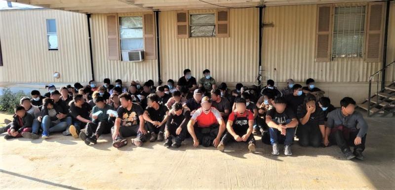 Border Patrol Arrests Over 100 in a Stash House