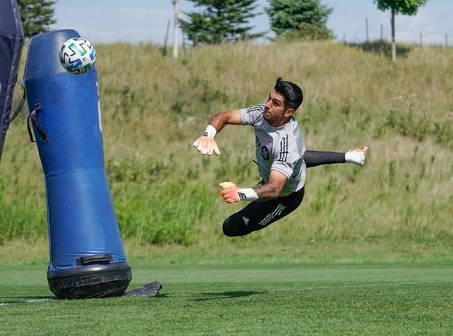 Babyfett turns out to be a blessing for Toronto FC's Silva and moves to goalkeeper